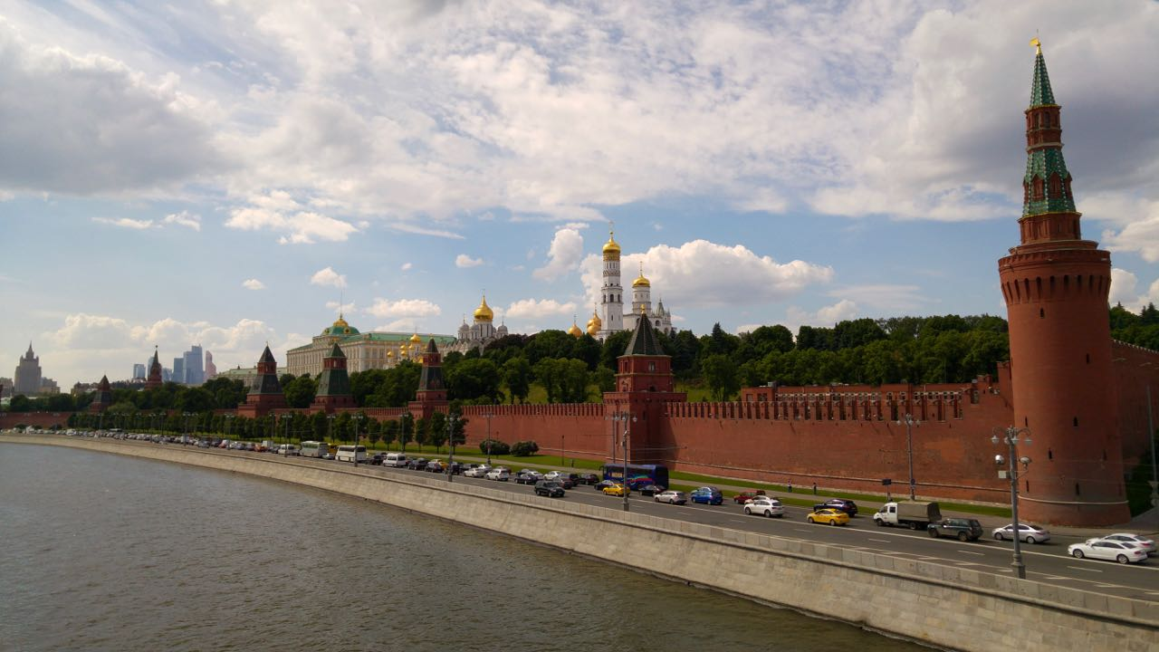 Going east: Excursion to Russia